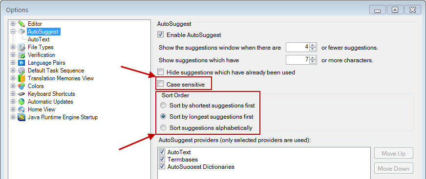 New features in SDL Trados Studio 2011 SP2 (4/6)