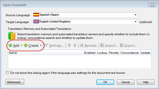 SDL Trados Studio TM isn't updating! My translation memory is empty! (2/5)