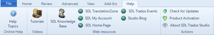 SDL Trados Studio 2014: new features for beginners (6/6)