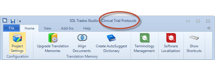 SDL Trados Studio 2014: new features for beginners (5/6)