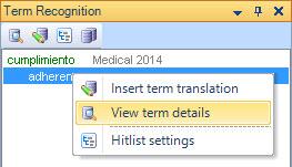 view term details