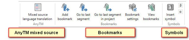 Bookmarks and symbols_title_anyTM