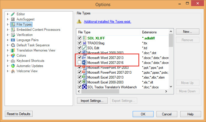 SDL Trados Studio 2015: New features for old hands | Signs