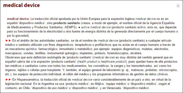 medical device_libro rojo