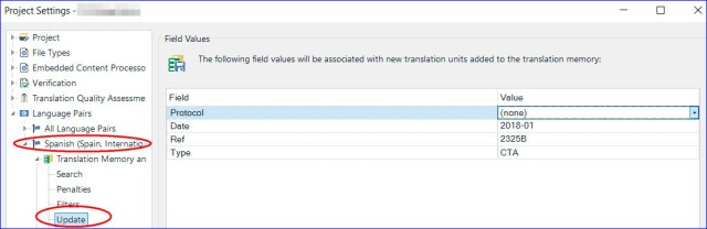 How to create a new translation memory in SDL Trados Studio